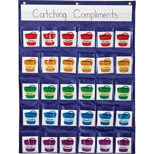 Carson-Dellosa 158161 Reinforcement Pocket Chart
