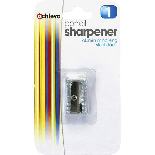 Officemate 30233 Aluminum Sharpener