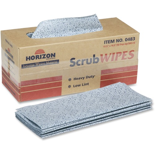 AbilityOne 2330483 Heavy-duty Scrub Wipes