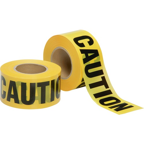 AbilityOne 6134244 2 mil CAUTION Barricade Tape