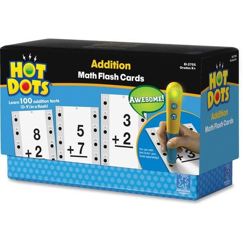 Hot Dots 2755 Addtn Facts Flash Cards