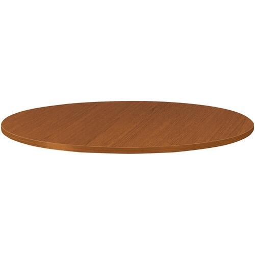 HON TLD36GHNH Burbon Cherry Round Laminate Table Top