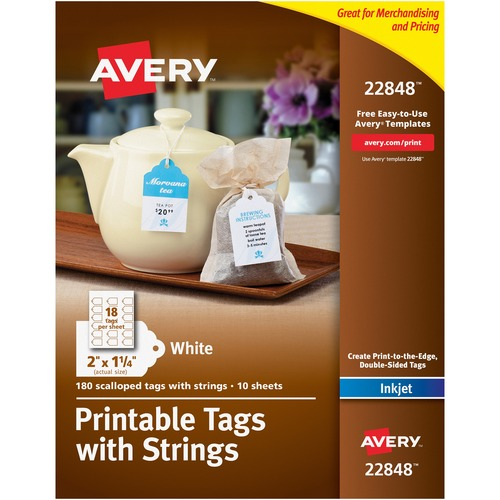 Avery 22848 Printable Tags with Strings