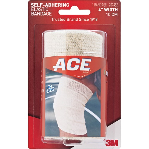 "ACE 207462 Self-adhering 4"" Elastic Bandage"