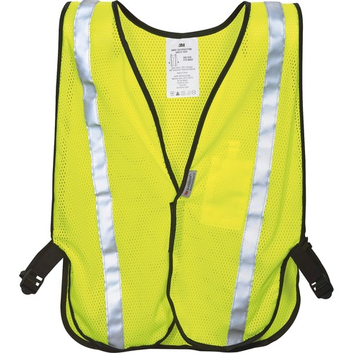 3M 9460180030T Reflective Yellow Safety Vest
