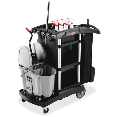 Rubbermaid 1861429 High Capacity Executive Cleaning Cart