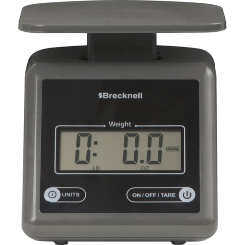Brecknell PS7GRAY Electronic 7lb Postal Scale
