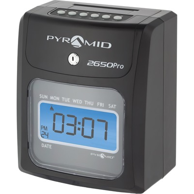 Pyramid 2650 6-Column Time Clock