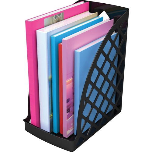 Deflecto 34904 Recycled Plastic Magazine Files