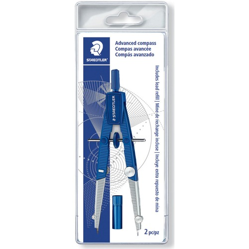 Staedtler 550WP01 Advanced Adj. Cntr Wheel Student Compass