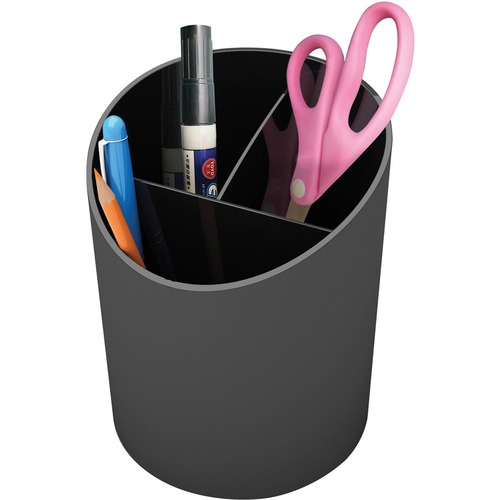 Deflecto 34204 Large Pencil Cup