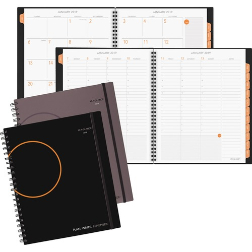 AT-A-GLANCE 70595000 Plan.Write.Remember. Weekly/Monthly Planner