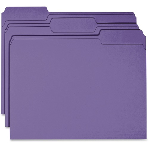 Business Source 44106 Colored File Folder