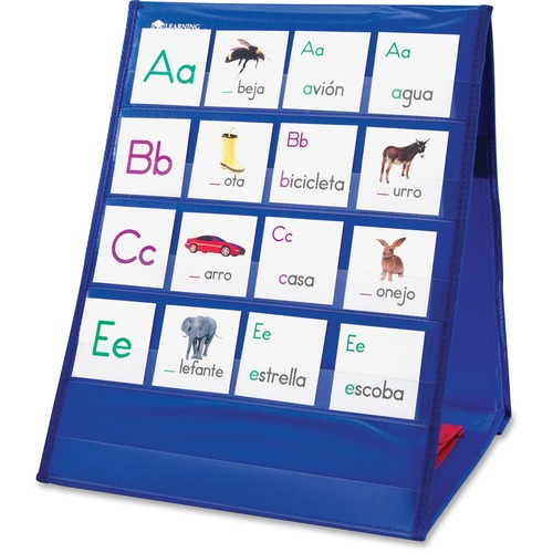 Learning Resources 2523 Tabletop Pocket Chart