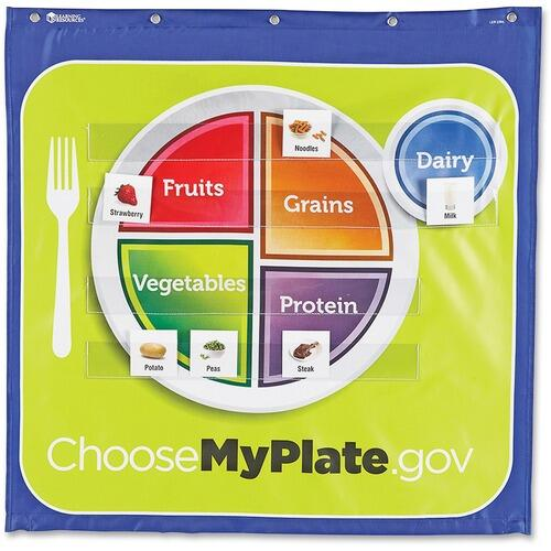 Learning Resources LER2394 MyPlate Pocket Chart