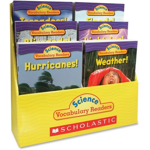 Scholastic 0545015987 Res. Gr1-2 Vocab. Readers Weather Books
