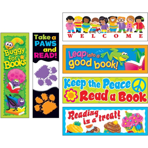 TREND 12906 Bookmark Variety Pack