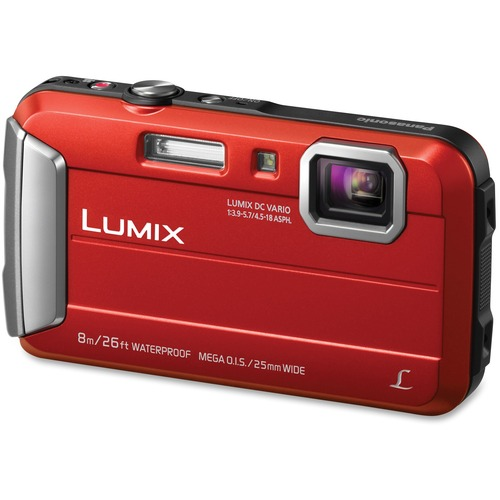 Panasonic DMCTS30R Active Lifestyle Tough Camera