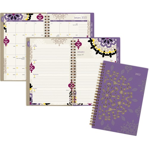 AT-A-GLANCE 122200 Vienna Weekly/Monthly Planner