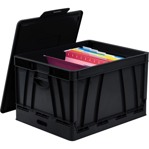 Storex 61809U04C Collapsible Storage Crate