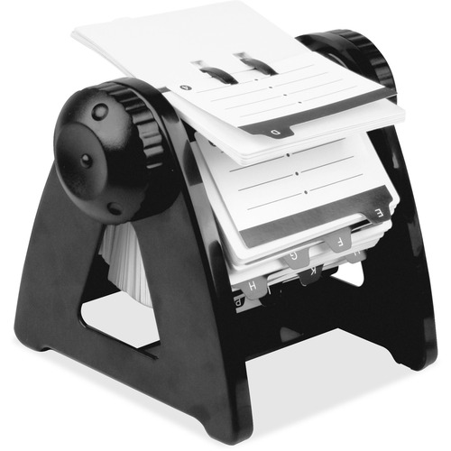 Lorell 01032 Refillable Rotary Card File