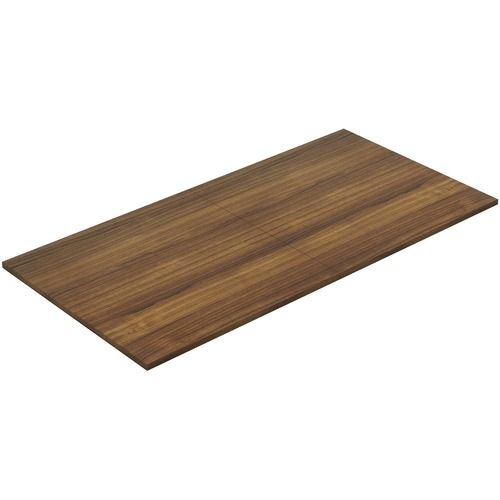 Lorell 34339 Chateau Walnut 8' Rectangular Conference Tabletop