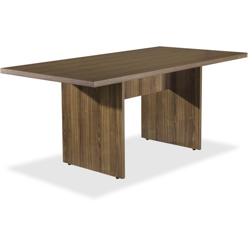 Lorell 34341 Chateau Series Walnut 6' Rectangular Table