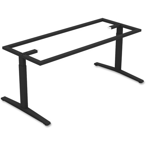 Lorell 59588 Rectangular Conference T-leg Table Base