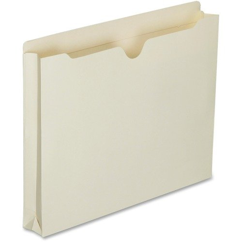 AbilityOne 6321014 Double-ply Tab Expanding Manila File Jackets