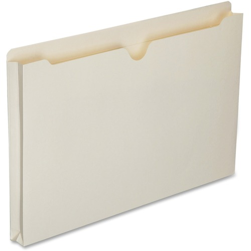 AbilityOne 6321019 Double-ply Tab Expanding Manila File Jackets