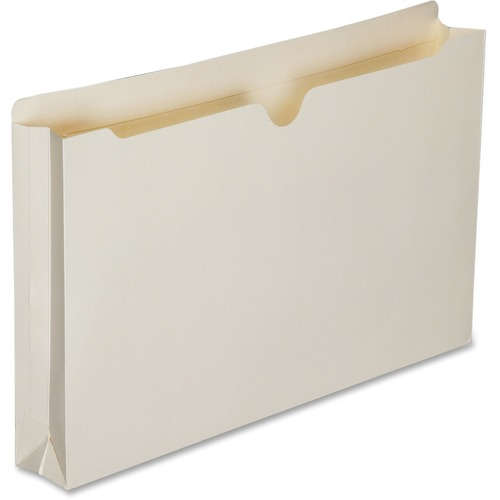 AbilityOne 6321021 Double-ply Tab Expanding Manila File Jackets