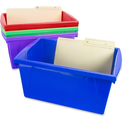 Storex 61475U12C Storage Box