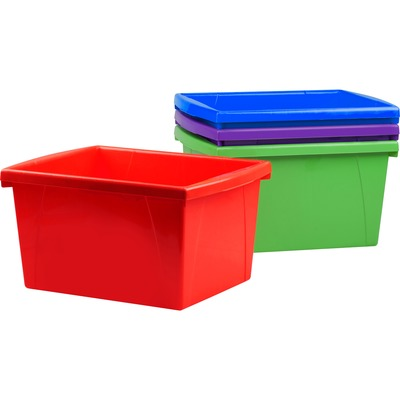 Storex 61476U12C Storage Box