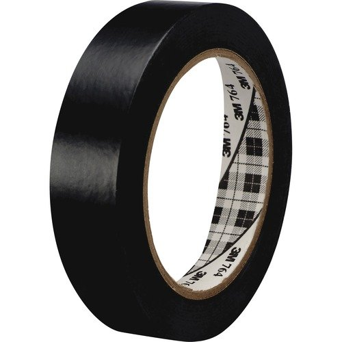 3M 764136BLK General-purpose 764 Color Vinyl Tape