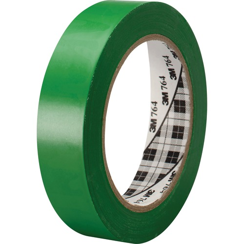 3M 764136GRN General-purpose 764 Color Vinyl Tape