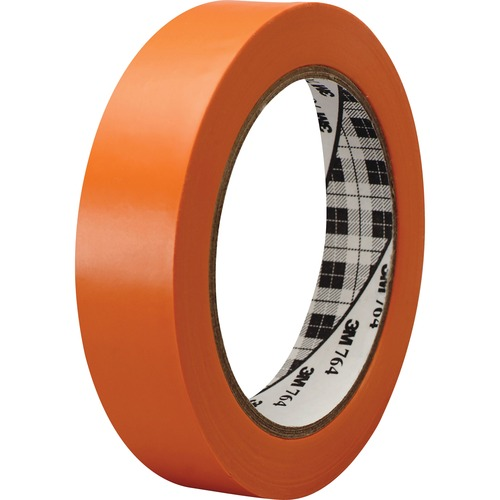 3M 764136ORG General-purpose 764 Color Vinyl Tape