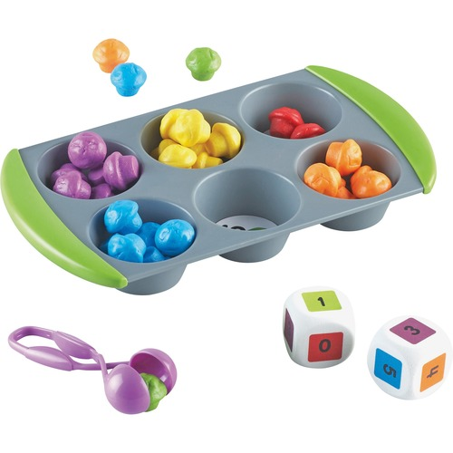 Learning Resources 5556 Mini Muffin Match Up