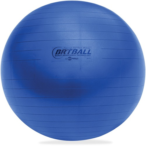 Champion Sports BRT42 Blue Training/Exercise Ball
