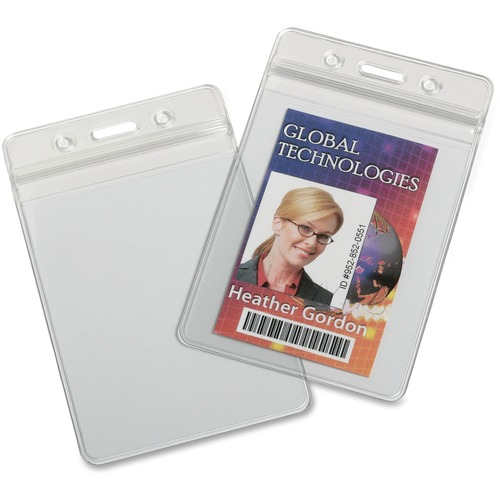 AbilityOne 6485710 Resealable Badge Holders