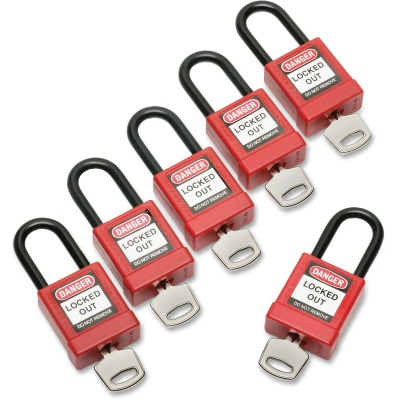 AbilityOne 6502636 Keyed-alike Lockout Padlocks