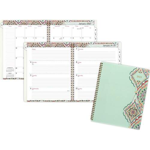 AT-A-GLANCE 182905 Marrakesh Weekly Monthly Planner