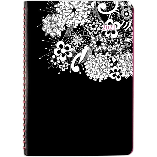 AT-A-GLANCE 589200 FloraDoodle Weekly/Monthly Planner