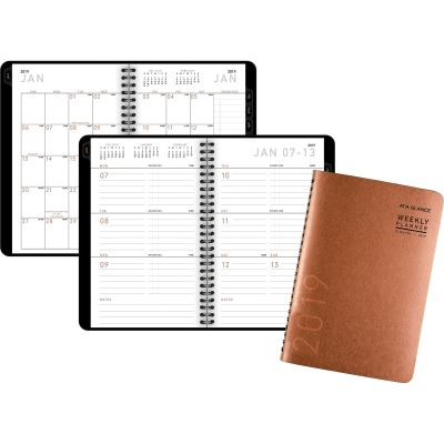 AT-A-GLANCE 70100X70 Contemporary Weekly/Monthly Planner