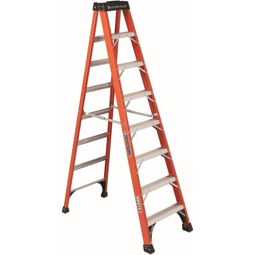 Louisville FS1408HD 8 ft Fiberglass Step Ladder