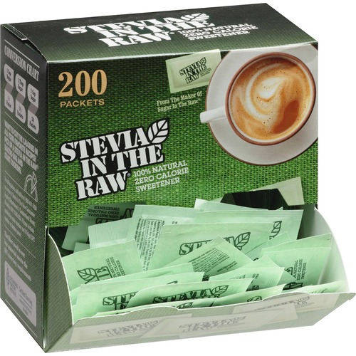 Folgers Stevia In The Raw 76014 Zero-calorie Sweetener