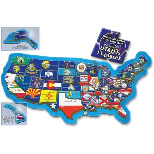 A Broader View 156 500-piece USA Puzzle