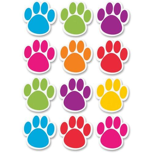 Ashley 10057 Dry Erase Paw-shaped Die-cut Magnets