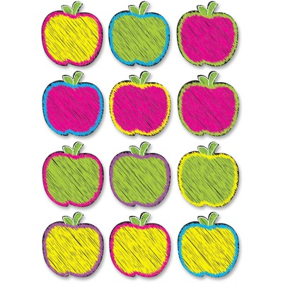 Ashley 10085 Scribble Apple Design DryErase Magnet