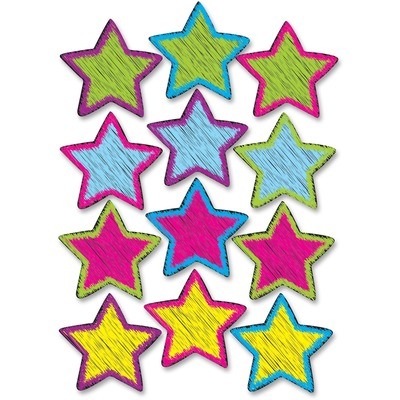 Ashley 10086 Scribble Star Design Dry-erase Magnet
