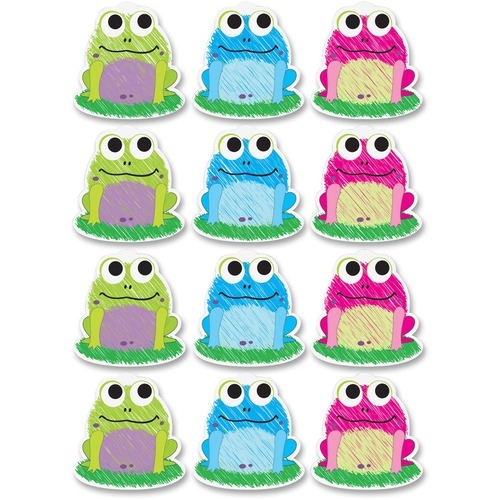 Ashley 10087 Scribble Frog Design Dry-erase Magnet